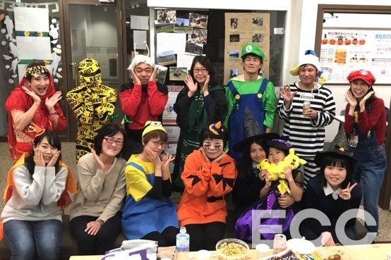 Halloween potluck party^^皆さん、素敵な仮装でした♪Thank you for coming